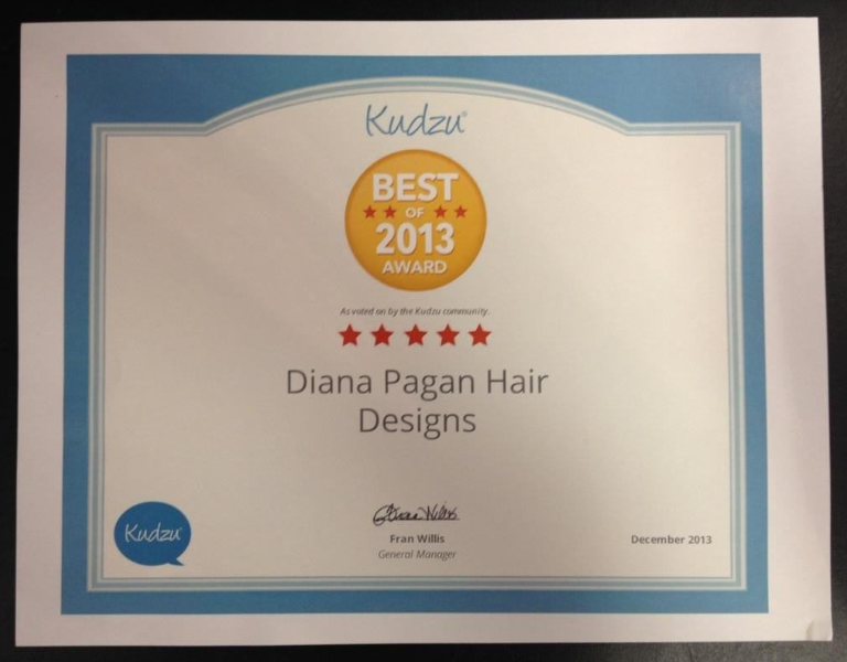 Best Hair Salon Award - Dunwoody, GA